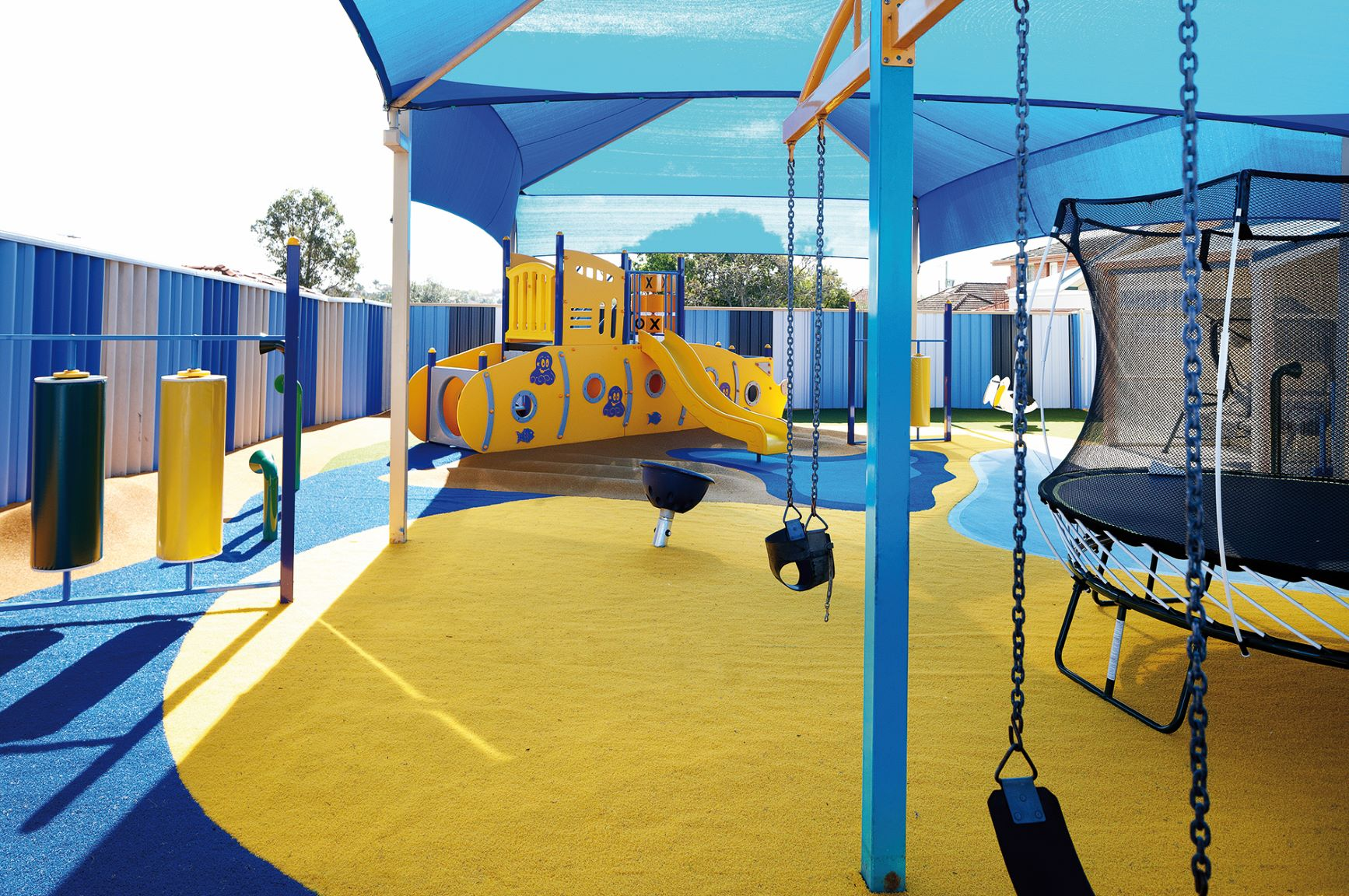 Playground located at the Bayswater short term accommodation facility