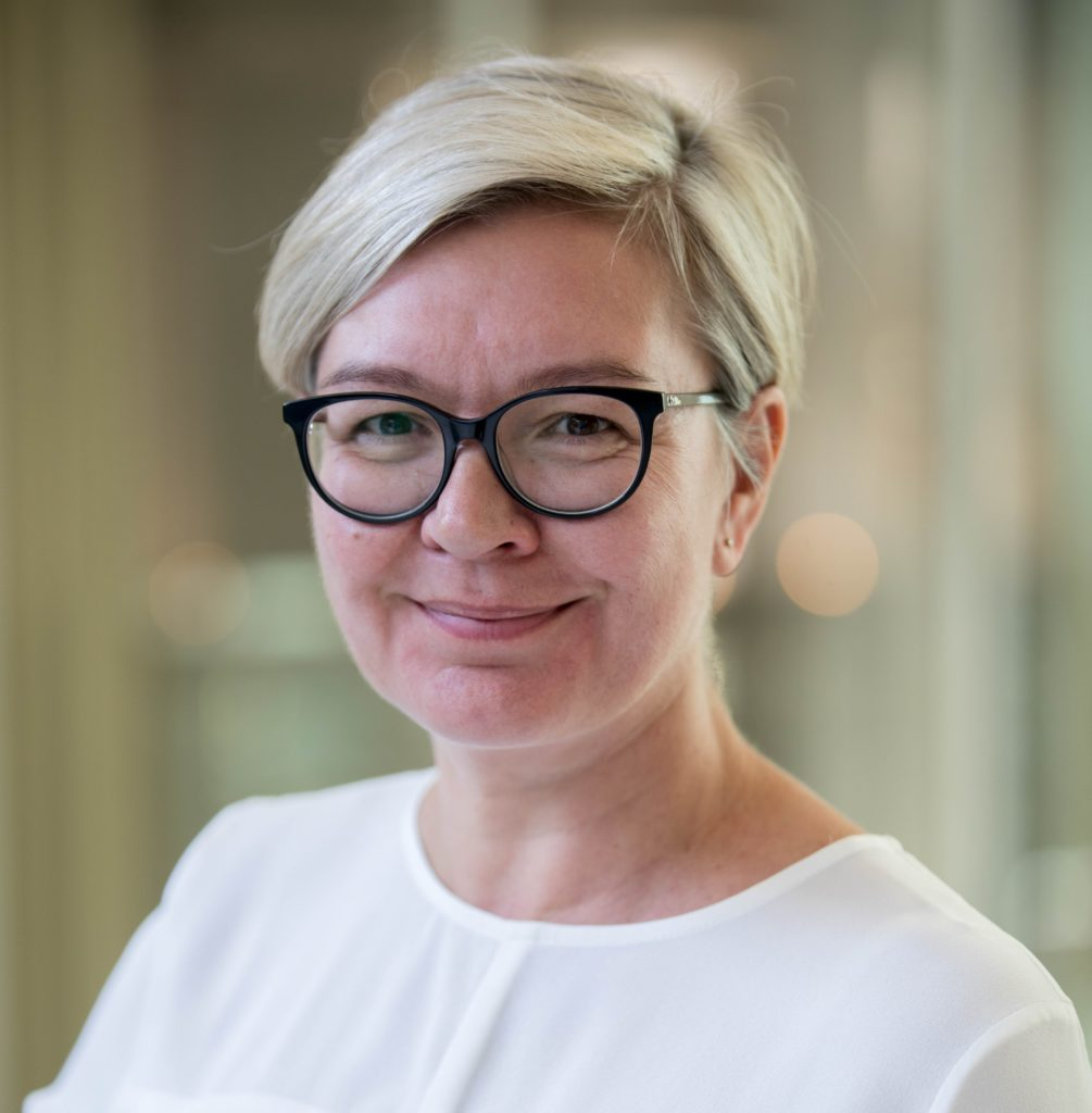 Head and shoulder image of Activ CEO Danielle Newport smiling